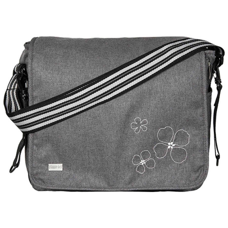 FILLIKID Nappy Bag Leon melange black