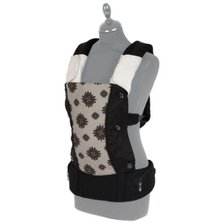 FILLIKID Baby Carrier Lina black/nature/red