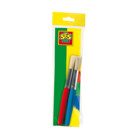 SES Creative® Kinderpinsel dick, 2er Set