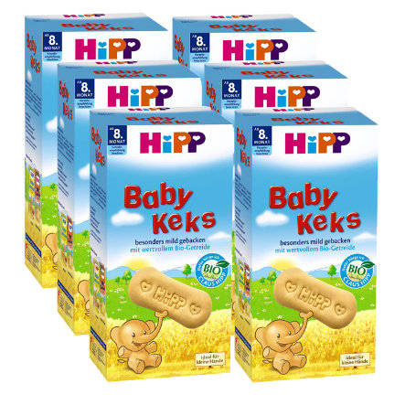 HIPP Bio Baby Biscuits 6x150g