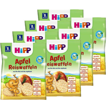 HIPP Bio Apple Rice Cakes 7x35g