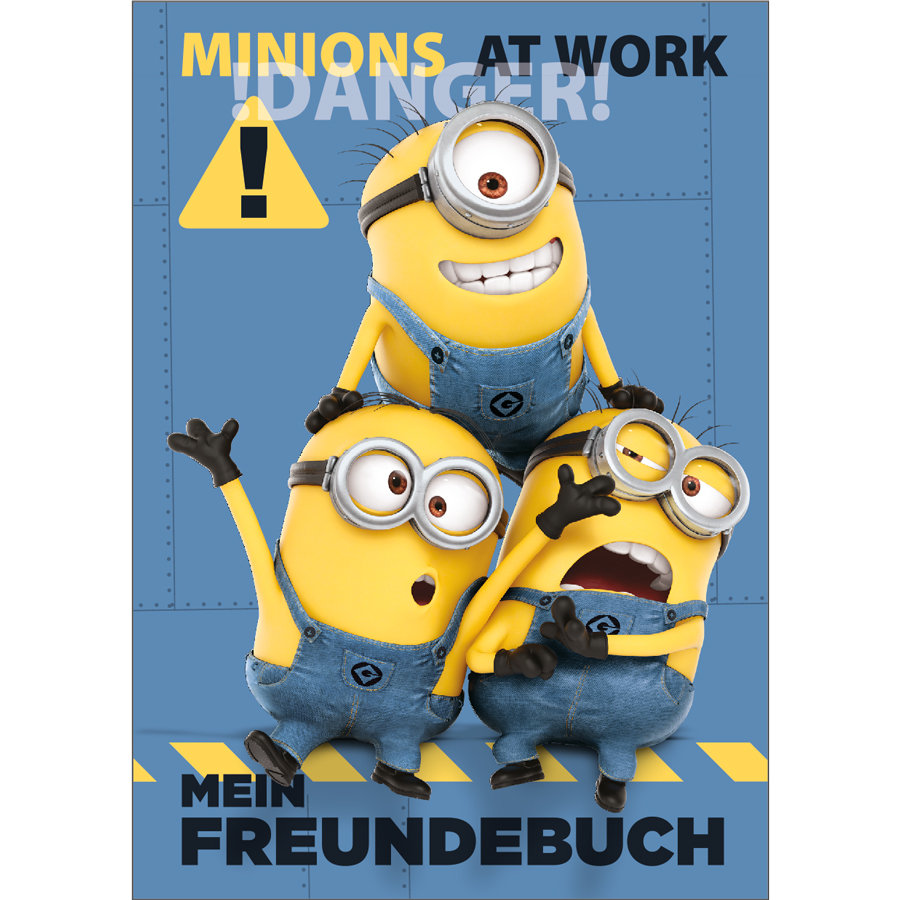 UNDERCOVER Freundebuch A5 - Minions