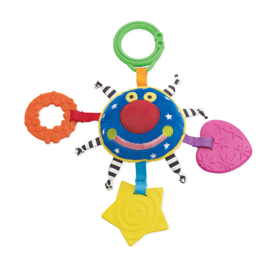 MANHATTAN TOY Whoozit Bijtring Orbit Teether