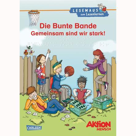 CARLSEN, Lesemaus zum Lesenlernen Sammelbände: Die Bunte Bande - Gemeinsam sind wir stark! (Hardcover)