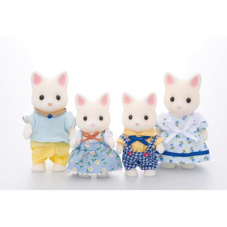 bagSylvanian Families® Familien - Katte familien Seidenthal