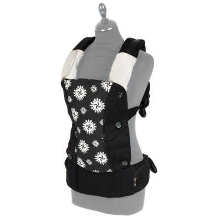 FILLIKID Baby Carrier Lina black/white