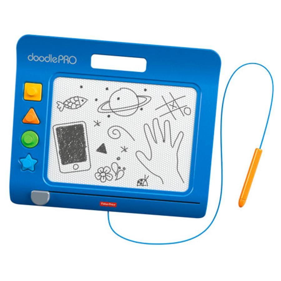 FISHER PRICE Tableau de dessin Doodle Pro Slim, bleu