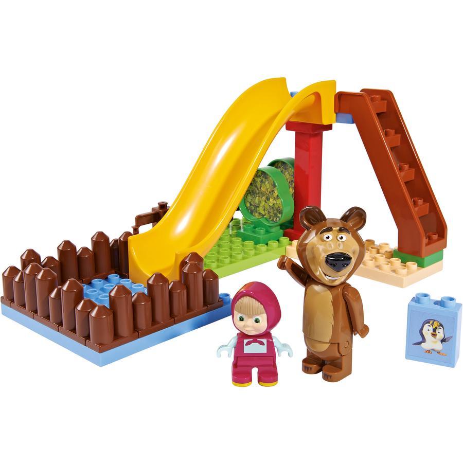 PlayBIG Bloxx Máša a medvěd - bazén