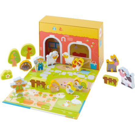 SEVI Ensemble de jeu Play Case Ferme