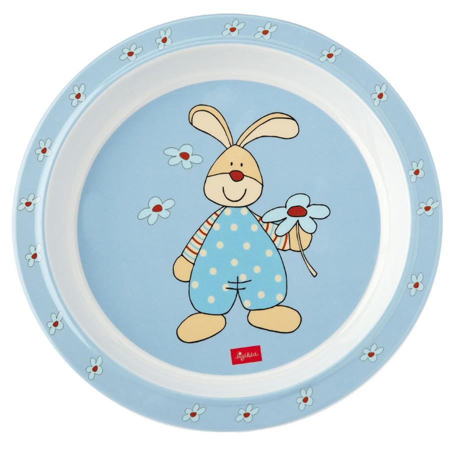 sigikid Melamin - Teller Semmel Bunny