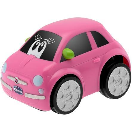 CHICCO Turbo Touch Auto Fiat 500 růžové