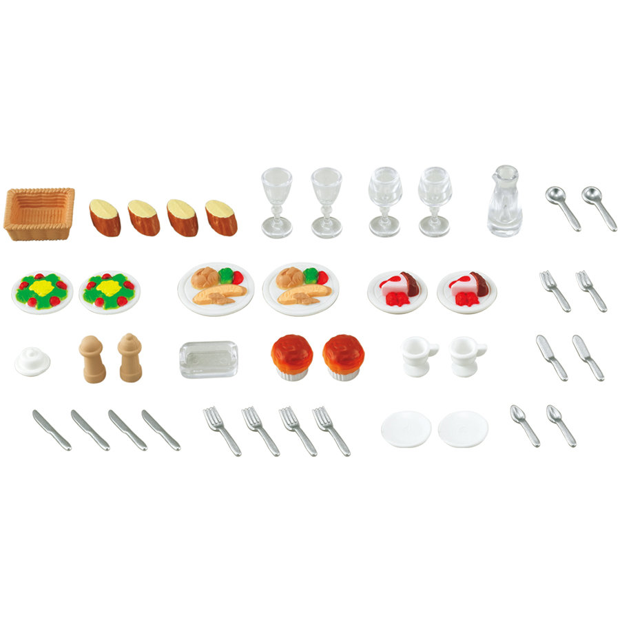 SYLVANIAN FAMILIES Furniture Sets - Dinner for Two Set