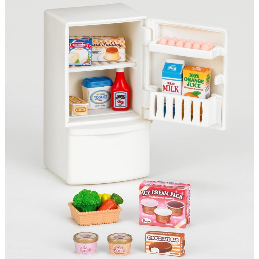 SYLVANIAN FAMILY Nábytek - lednice s doplňky