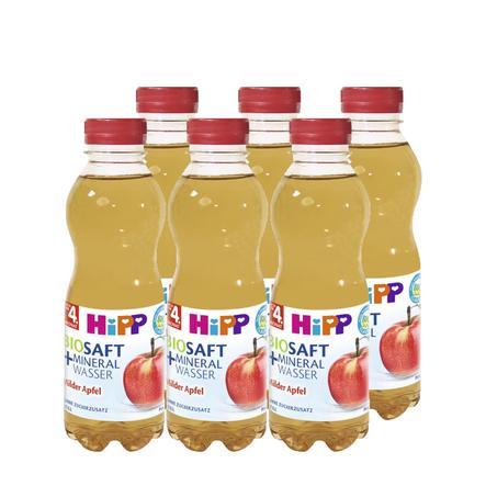 HiPP Bio Saft & Mineralwasser Milder Apfel -Still- 6 x 0,5 l