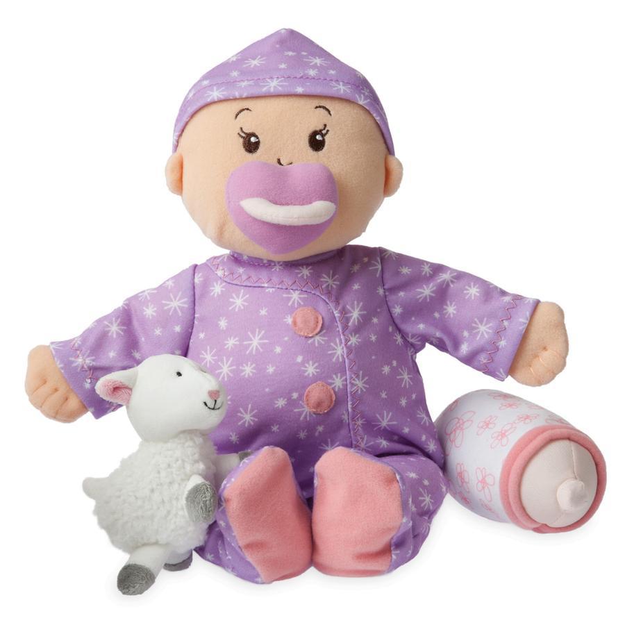 MANHATTAN TOY Baby Stella - Panenka, sladké sny