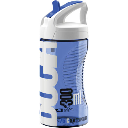 ELITE Bidon Bocia Transparent-Blue 350ml