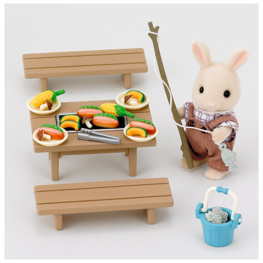 SYLVANIAN FAMILIES Familie barbeque