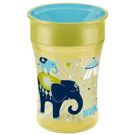 NUK Tréningový hrníček Magic Cup 250ml slon, pistácie