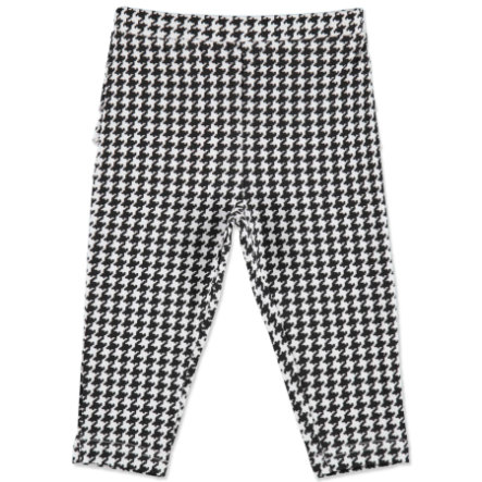 MAX COLLECTION Baby Leggings KARO czarno-biały