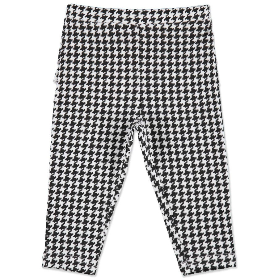 MAX COLLECTION Leggings bébé KARO noir-blanc