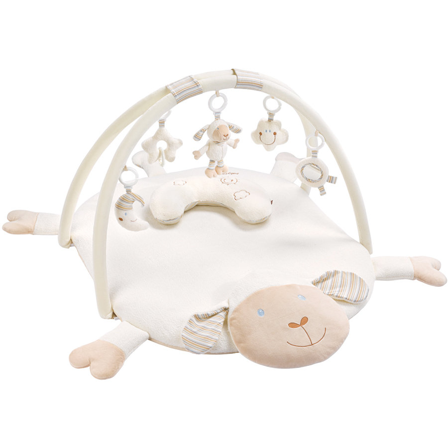 babyFehn Babygym med pute - Babylove Lam  3-D