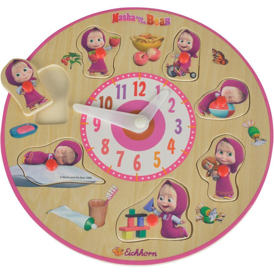 EICHHORN Masha och björnen - Lär-dig-klockan