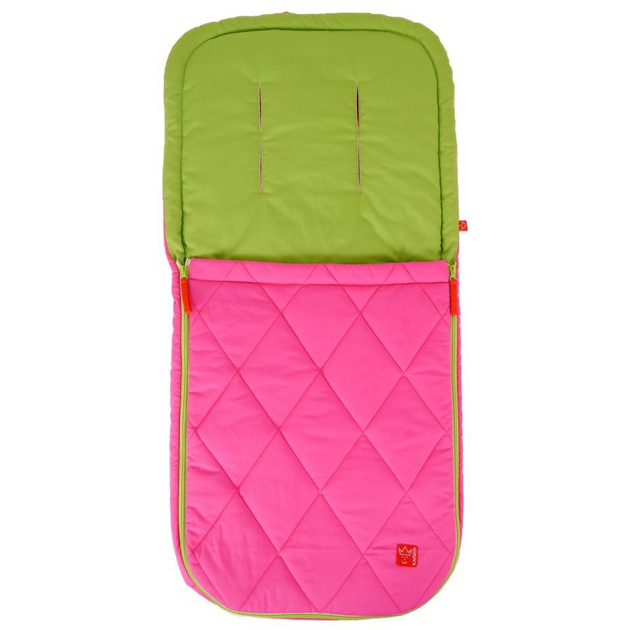 Kaiser Summer Footmuff Nikky pink