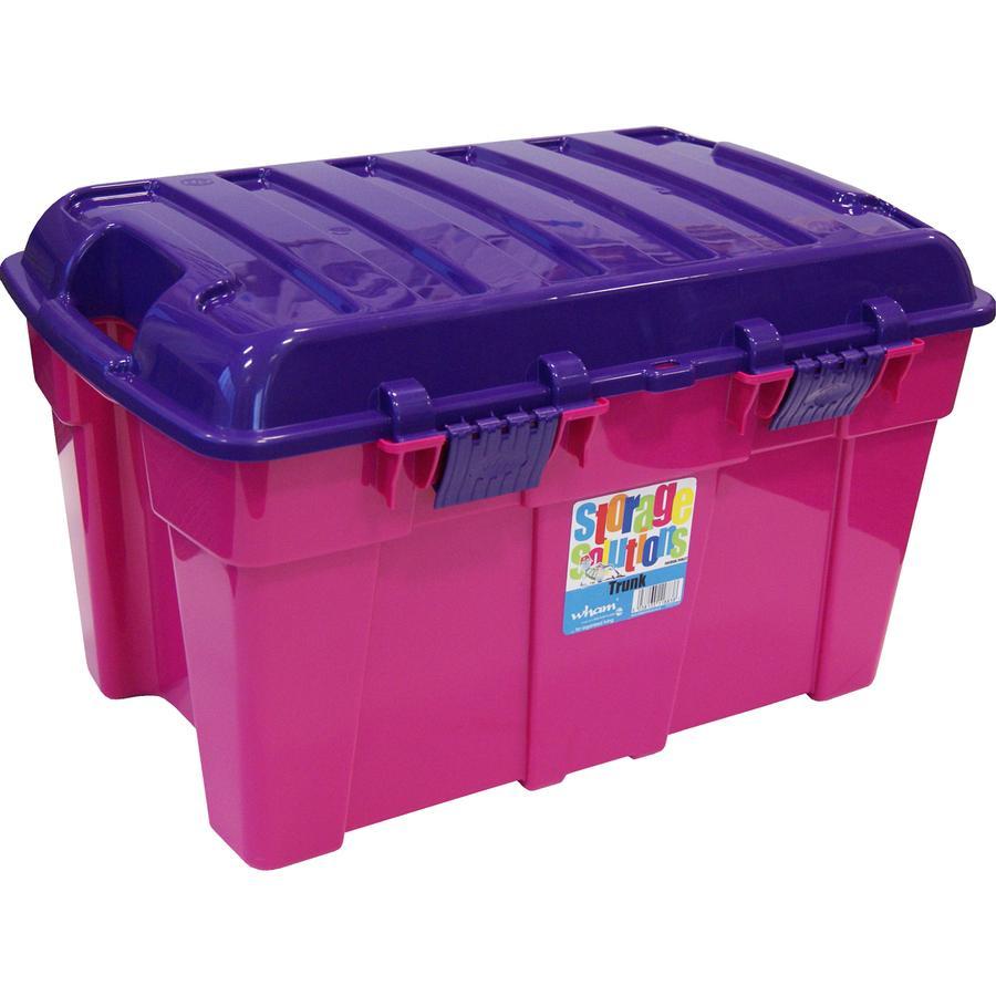 WHAM 48L Spielzeugkiste, Pink/Purple