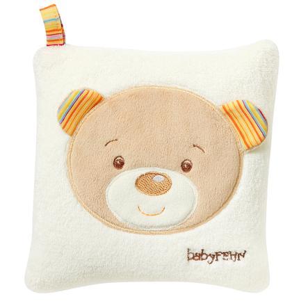 BABY SUN Coussin aux noyaux de cerise Teddy - Rainbow