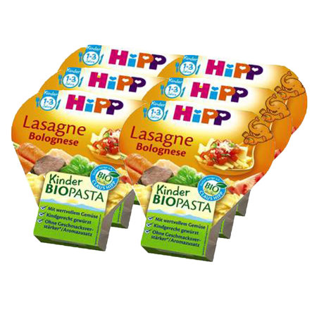 HIPP Bio Lasagne Bolognese 6 x 250g