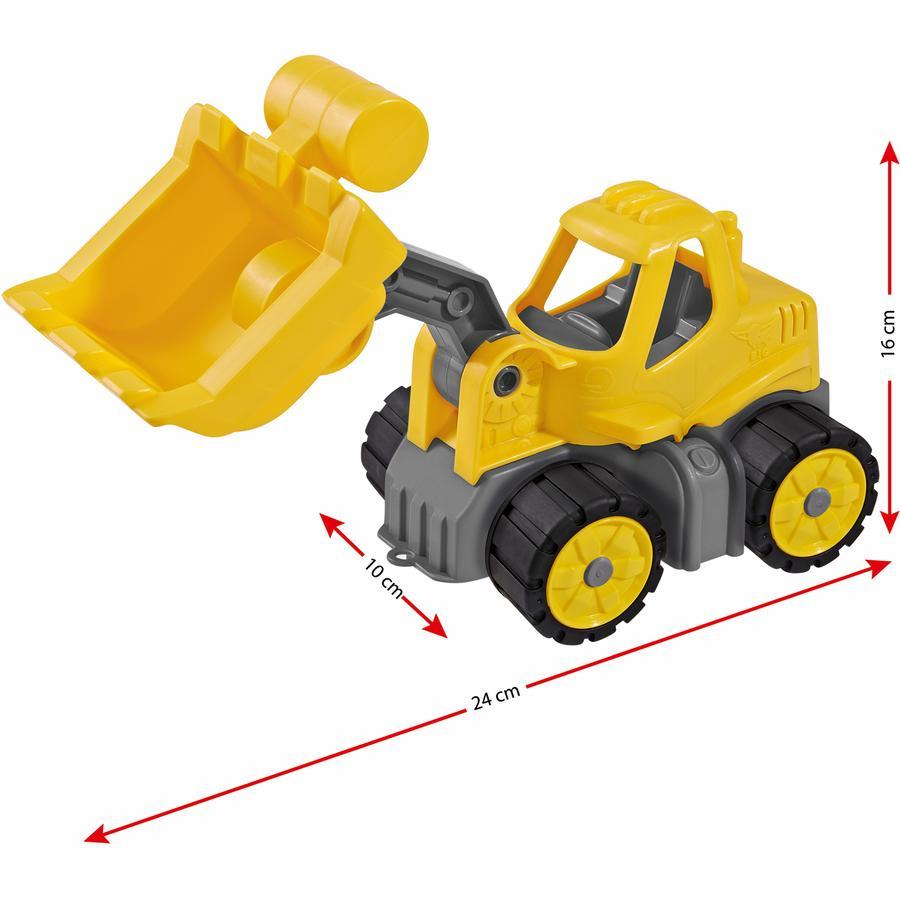 BIG Power Worker Mini Excavadora con pala