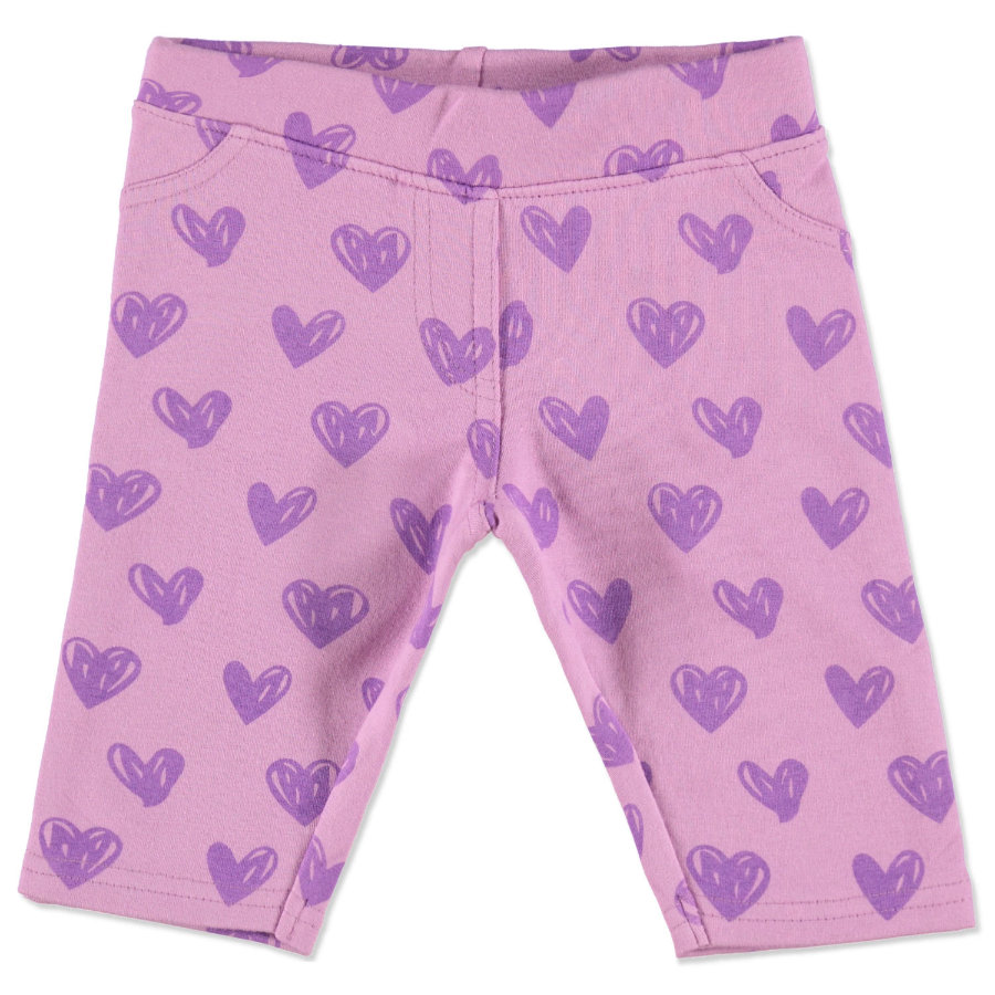 MAX COLLECTION Baby Hose HERZCHEN lila