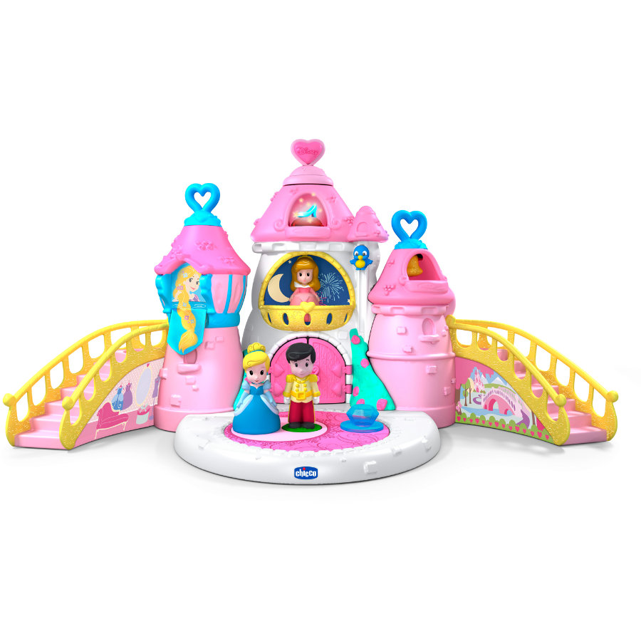 CHICCO Disney Princess - Château et 3 figurines