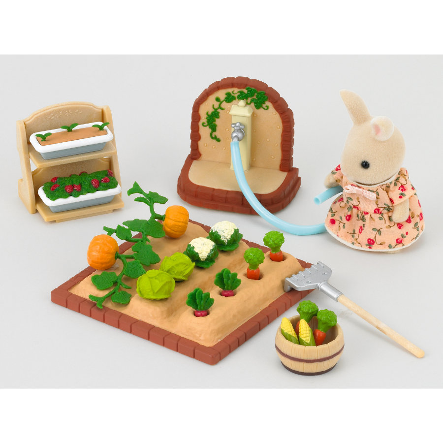 SYLVANIAN FAMILIES Furniture Sets - Vegetable Garden Set