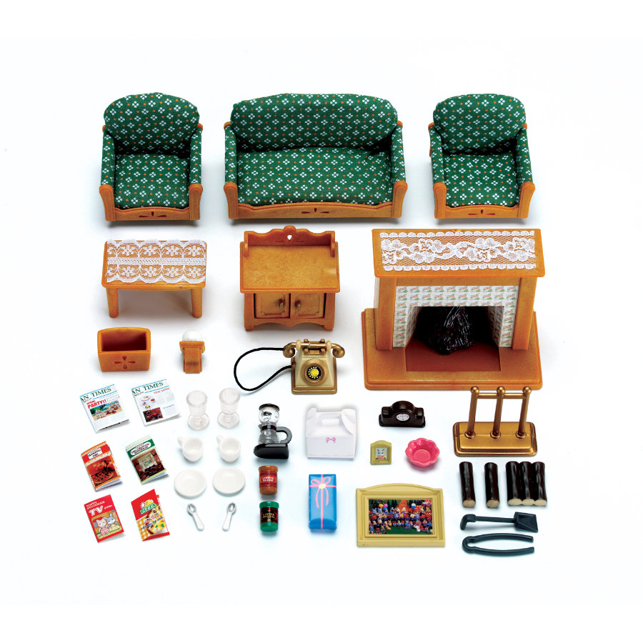 SYLVANIAN FAMILIES Room Sets - Deluxe Living Room Set