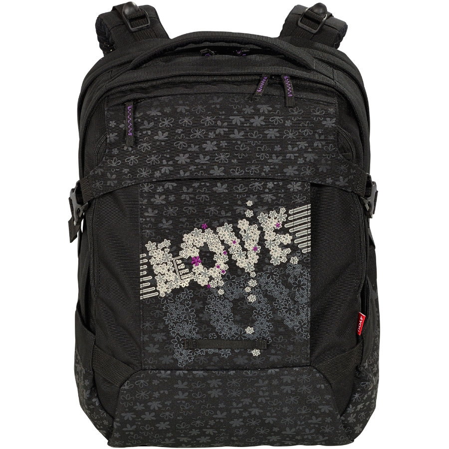 4YOU Flash SRS School Bag Tight Fit - 494-47 Love is all