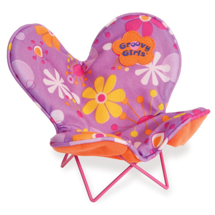 MANHATTAN TOY Groovy Girls - Be Relaxed Butterfly Puppen-Stuhl