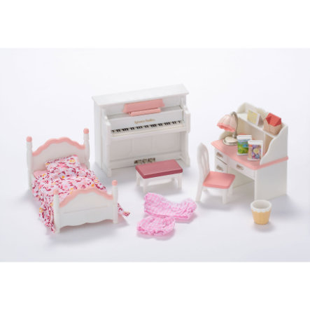 SYLVANIAN FAMILIES Room Sets - Girl's Bedroom Set