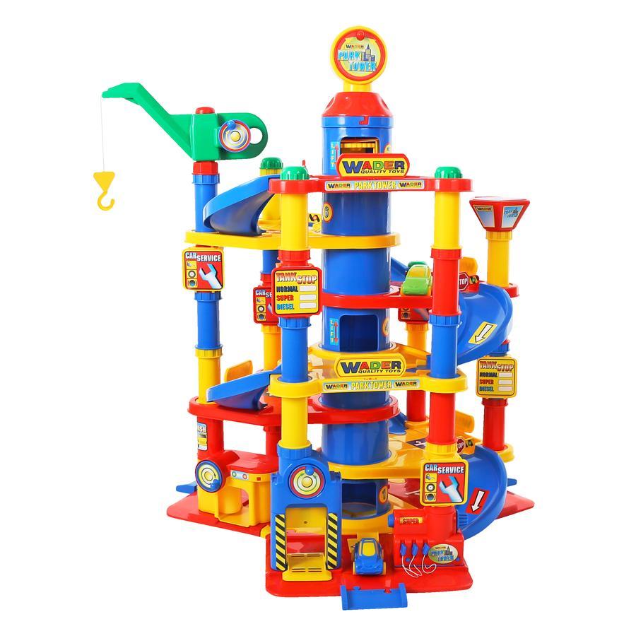WADER Garage Park Tower con 7 livelli e Auto