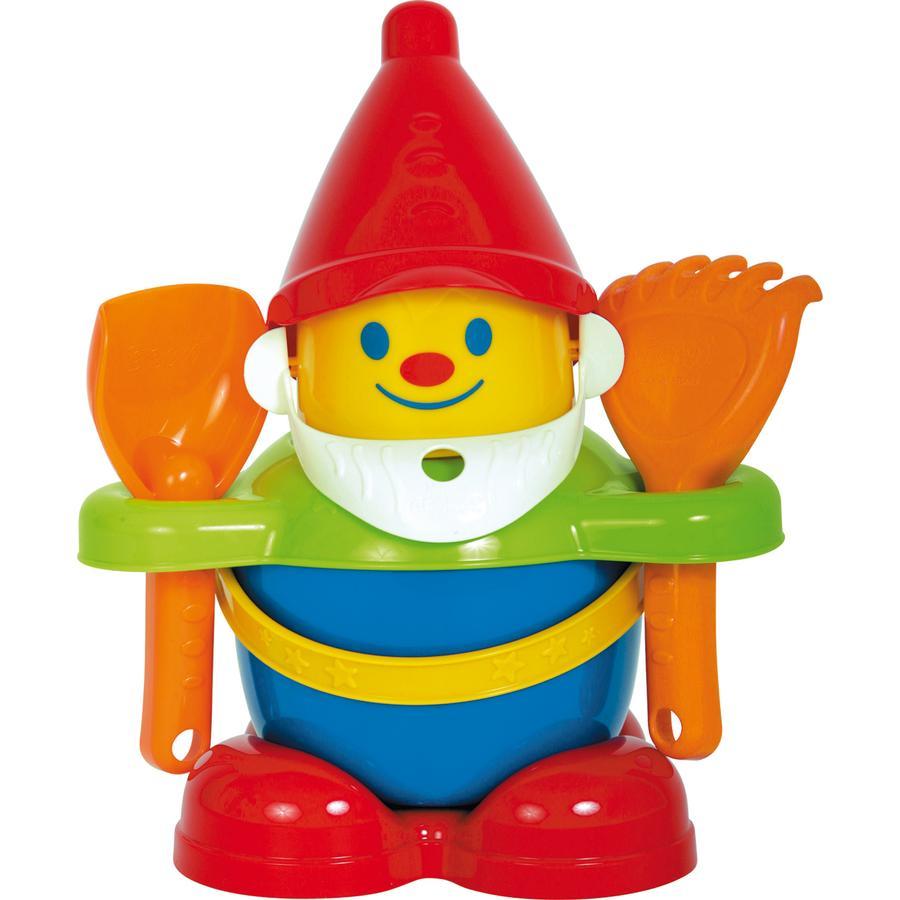 Gowi Wiaderko z zabawkami do piasku Happy George