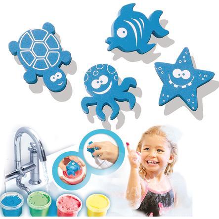 SES Creative Aqua maler i badekaret, 4x120 ml
