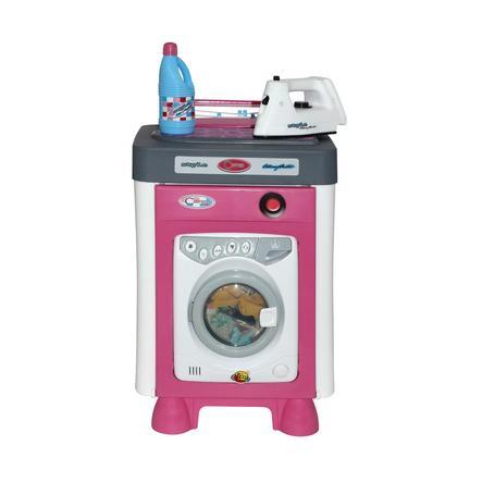 WADER QUALITY TOYS Vaskemaskin Carmen med tilbehør (elektrisk)