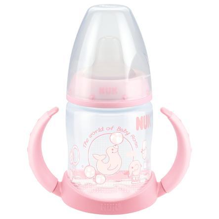 NUK First Choice Trinklernflasche aus PP und Soft-Trinktülle 150 ml rosa