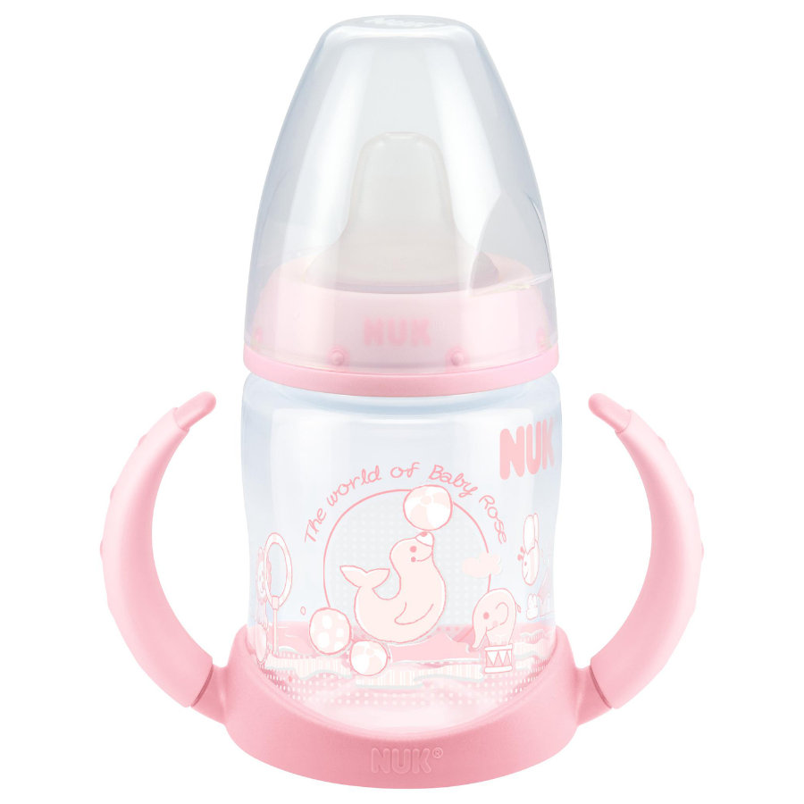 NUK Tazza bevimpara First Choice in PP e beccuccio Soft 150ml rosa