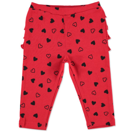 MAX COLLECTION Baby Leggings HERZCHEN rot