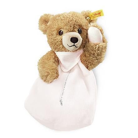 STEIFF Teplý polštářek, spinkej dobře-medvídek,  22 cm