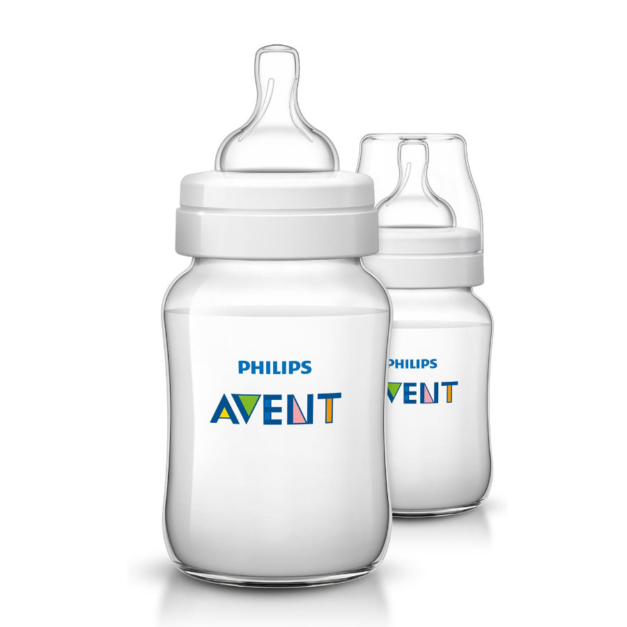 Philips AVENT SCF563/27 Babyfles Anti-Koliek Classic 260ml, 1m+, 2pack