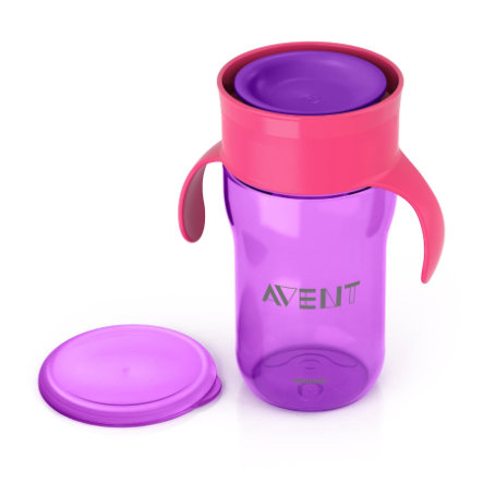 Philips AVENT Gobelet All Around Cup, violet, 340 ml SCF784/00