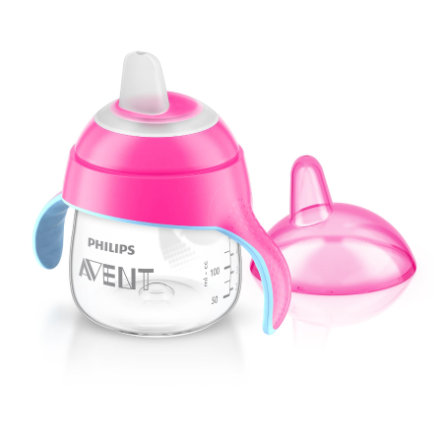 Philips AVENT Tasse à bec souple, rose, 200 ml SCF751/07