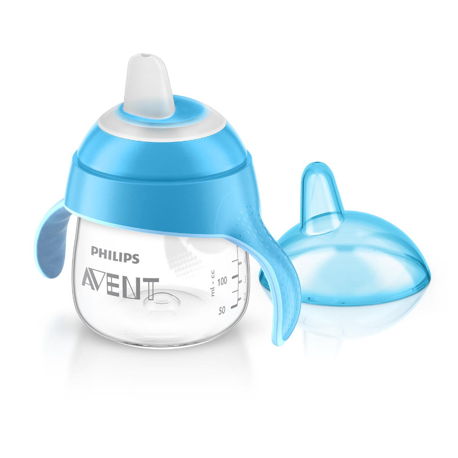 Philips AVENT Tasse à bec souple, bleu, 200 ml SCF751/05